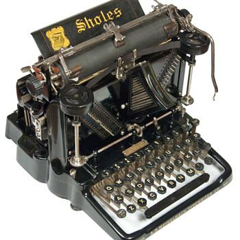 Sholes Visible - 1901