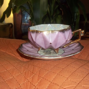 Great-Uncle's Royal Sealy Cup and Saucer