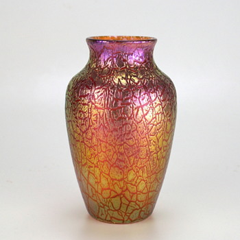 Loetz Mimosa ...Pretty in Pink circa 1907 - Art Glass