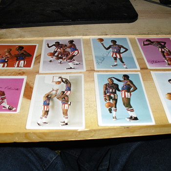 All my Globetrotter cards - Basketball