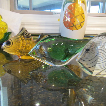 Fish Gotta Swim - Art Glass