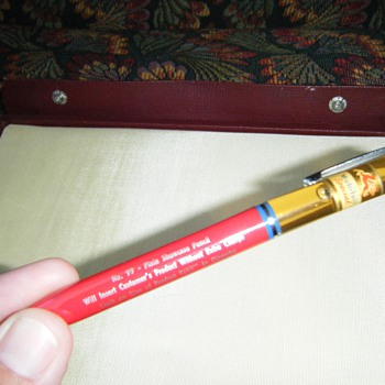 Mobiloil specialized oil can mechanical pencil