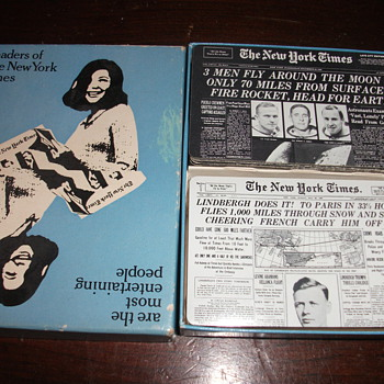 New York Times Playing Cards - 2 sets