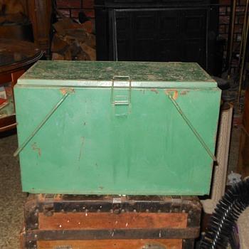 Vintage Preway Cooler with Ice Holder Insert - Advertising