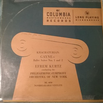 LP record first-year issue - Records