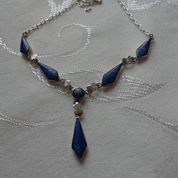 Lapis Lazuli Necklace Made in Chile