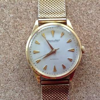 My father's old International Watch Co. Swiss Automatic wrist watch - Wristwatches