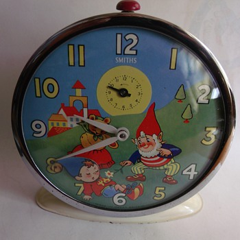 1959 Noddy Animated Alarm Clock Restoration - Clocks