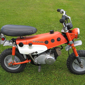 Another 1971 Suzuki MT50 Trail Hopper
