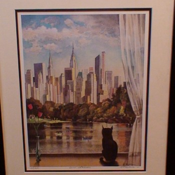 """""""Quiet Afternoon"""" Erik Freyman Signed, Titled & Numbered in Pencil 108/950 - Visual Art"""