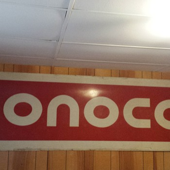 Conoco Sign
