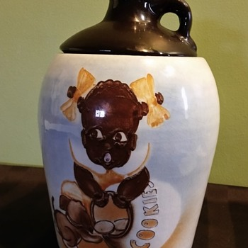 Unknown 1950s cookie jar