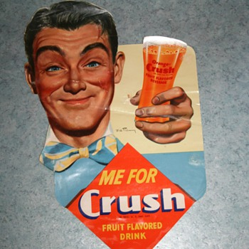 orange crush poster - Advertising