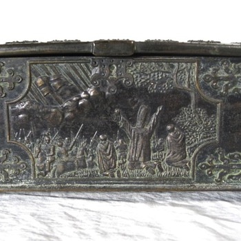 Miniature Bronze Danish Coffer