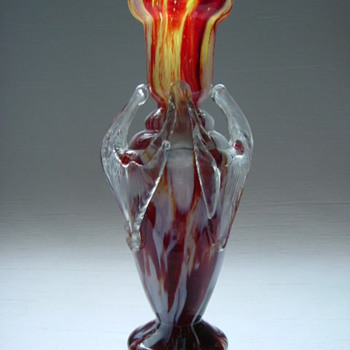 Bohemian Vase.....Victorian Period - Art Glass