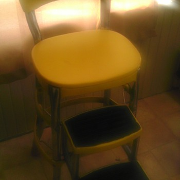 cosco step stool and shelves
