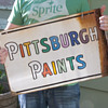 Pitsburgh Paints... Smooth as glass.