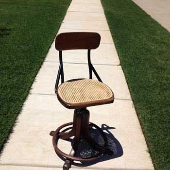 Industrial Age office chair