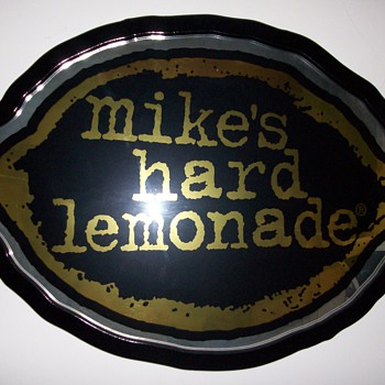 Mike&#039;s Bar Mirror - Advertising
