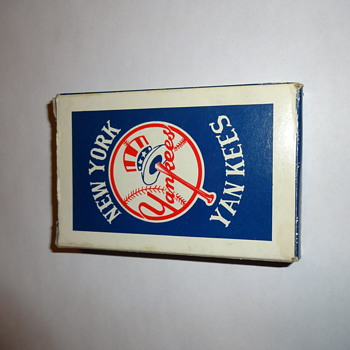 Yankees Playing Cards - Baseball