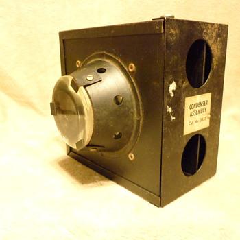 Vintage Condenser Assembly - Cameras