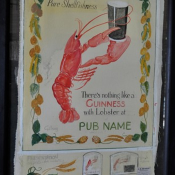 Guinness Pure Shellfishness - Breweriana