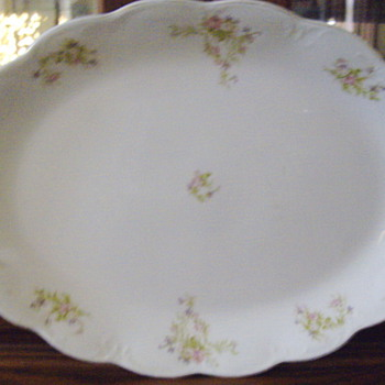 My China Platter - China and Dinnerware