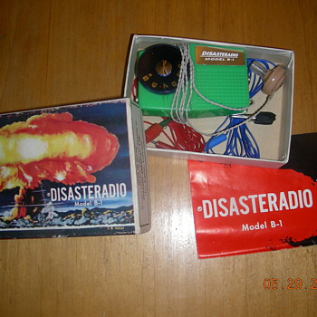 Disaster radio - cold war era - Radios