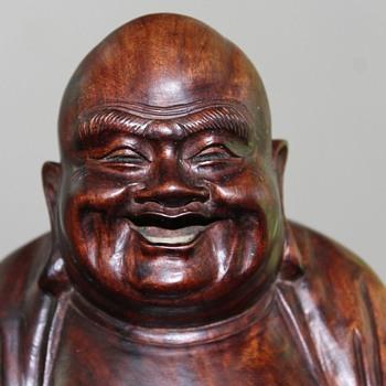 Mum's beatific Buddha