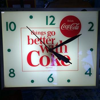Swihart Coke clock