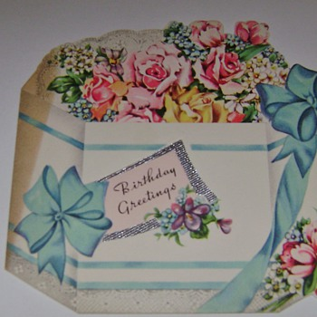 Buddy's Birtday Cards 1947