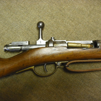 German Model 1871 Mauser Rifle
