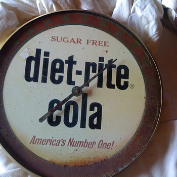 Diet Rite Cola thermometer