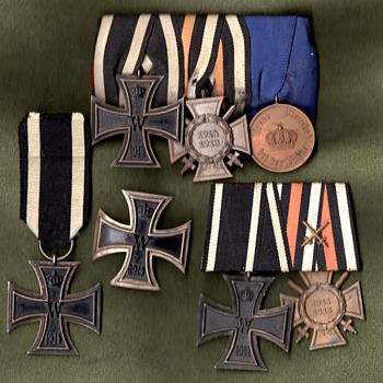 WWI Iron Cross first and second class - Military and Wartime