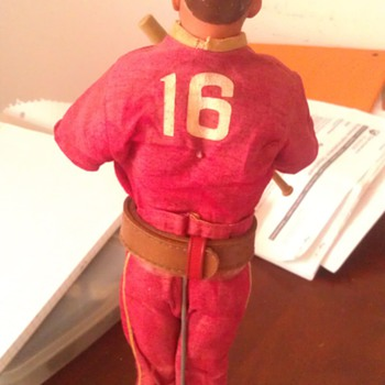 Vintage Johnny Hero Doll With Baseball Outfit