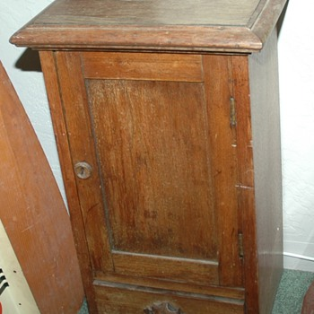 Early file cabinet