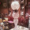 cut glass crystal oil lamp