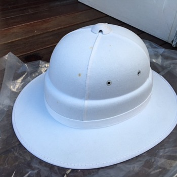 Queensland Railways Stationmaster's Pith Helmet