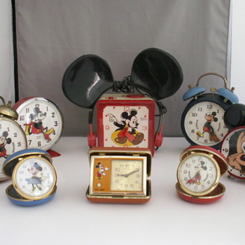 Mickey Clocks - Wristwatches