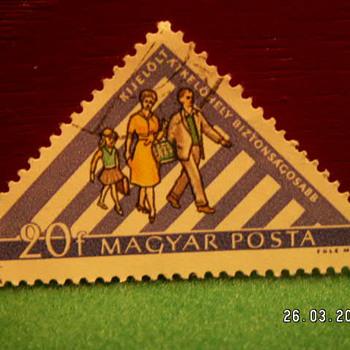 Vintage Magyar Posta 20f Stamp - Stamps