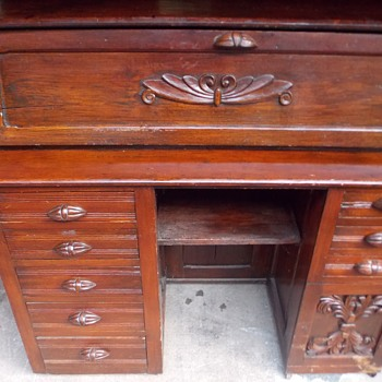 Vintage Secretary Desk - Furniture