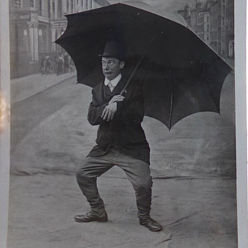 2 Comic Cards, pre-1908
