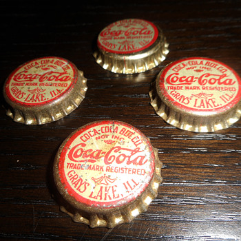 Early Coca-Cola Bottle Caps - Coca-Cola