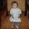 victorian doll with leather hands
