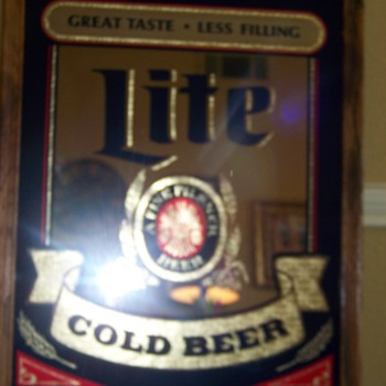 Miller Lite Bar Mirror