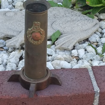 Navey anti aircraft shell - Military and Wartime