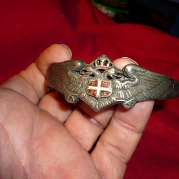 Crest bracelet  - Silver