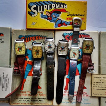 Superman can fly !!! - Wristwatches