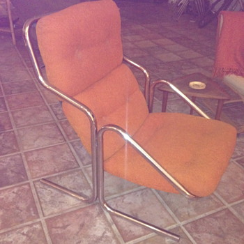 Jerry Johnson Arcadia Lounge Chair and Ottoman 