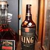 1947 4/5 quart Brown-Forman King Black label cork top bottle